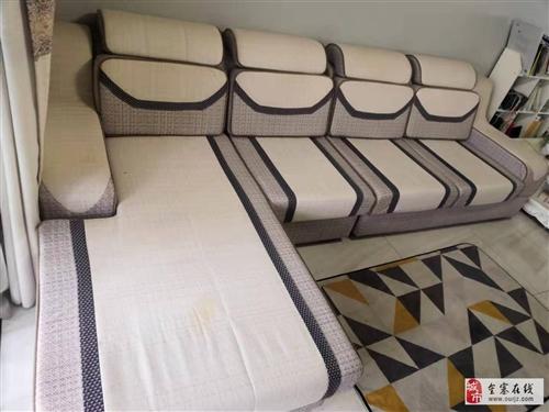 出售9成新沙发(附送冬季和夏季沙发垫各一套)