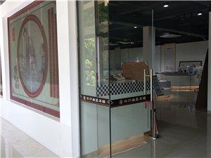 (周氏)纸织画艺术馆布馆中,作品有需要可以联系