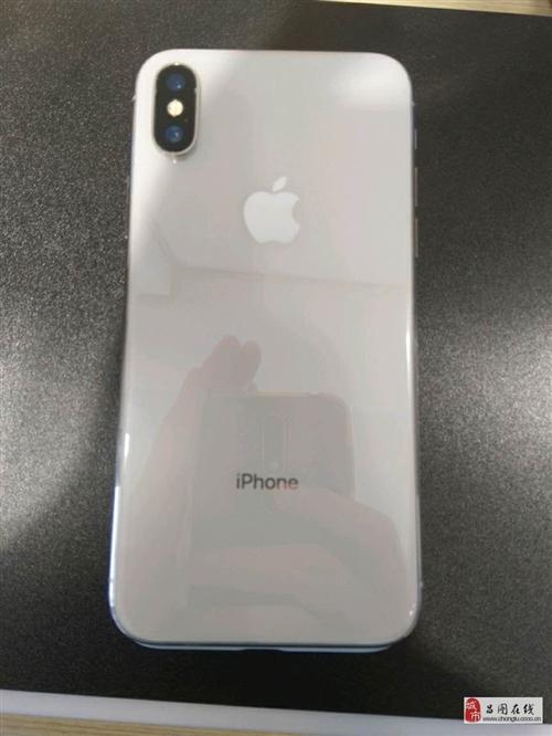 性情秒杀苹果X国行64G白色外观99新