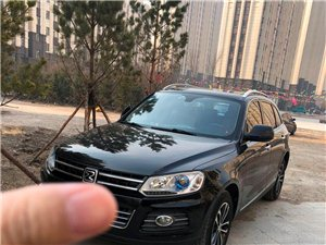 众泰T600,2.0T最高配,黑色
