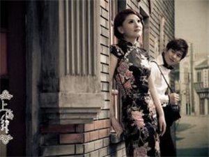 中式复古婚纱照