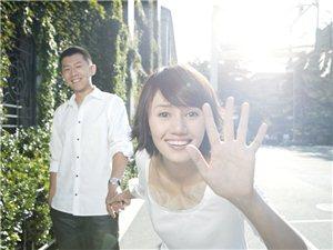 袁泉夏雨小清新结婚照