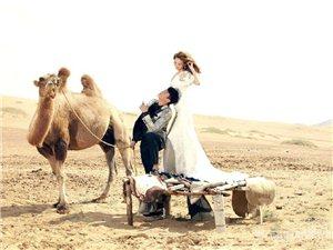 何润东大漠结婚照