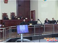 夹江县公开宣判首例涉黑势力犯罪案件