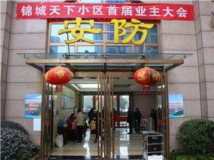 枝江锦城天下app1月15日顺利召开业主委员会选举大会