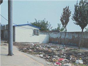 广饶团结路早市垃圾成堆,无人清理