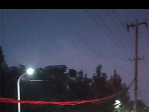 高唐康乐小区电缆线下垂严重