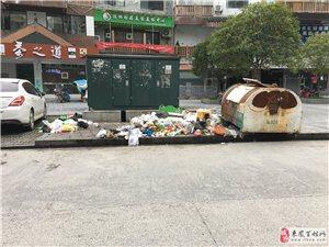 黄金水岸繁华地段垃圾成堆