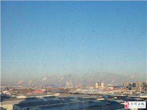 齐河城北烟雾缭绕