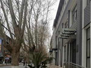 汉台区中山街一家单位当人行道是自家的