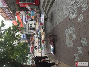 【已回复】城市执法请杜绝弋阳路四中旁边商户占道经营