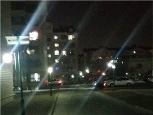 前天下班,�乔奥�舨涣粒��笮藓螅�今天晚上下班�@���c回家,一看亮了。嘉恒物�I公司�S修�@速度�o力。