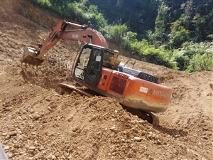 日立250挖机