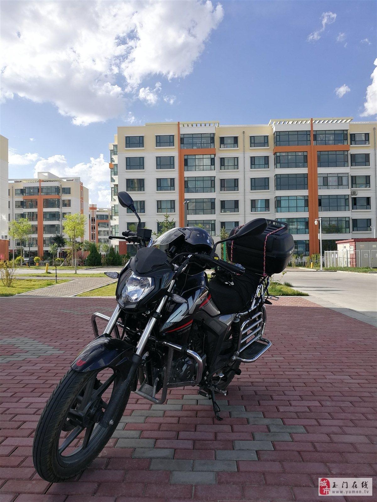 准新摩托车150cc急出售