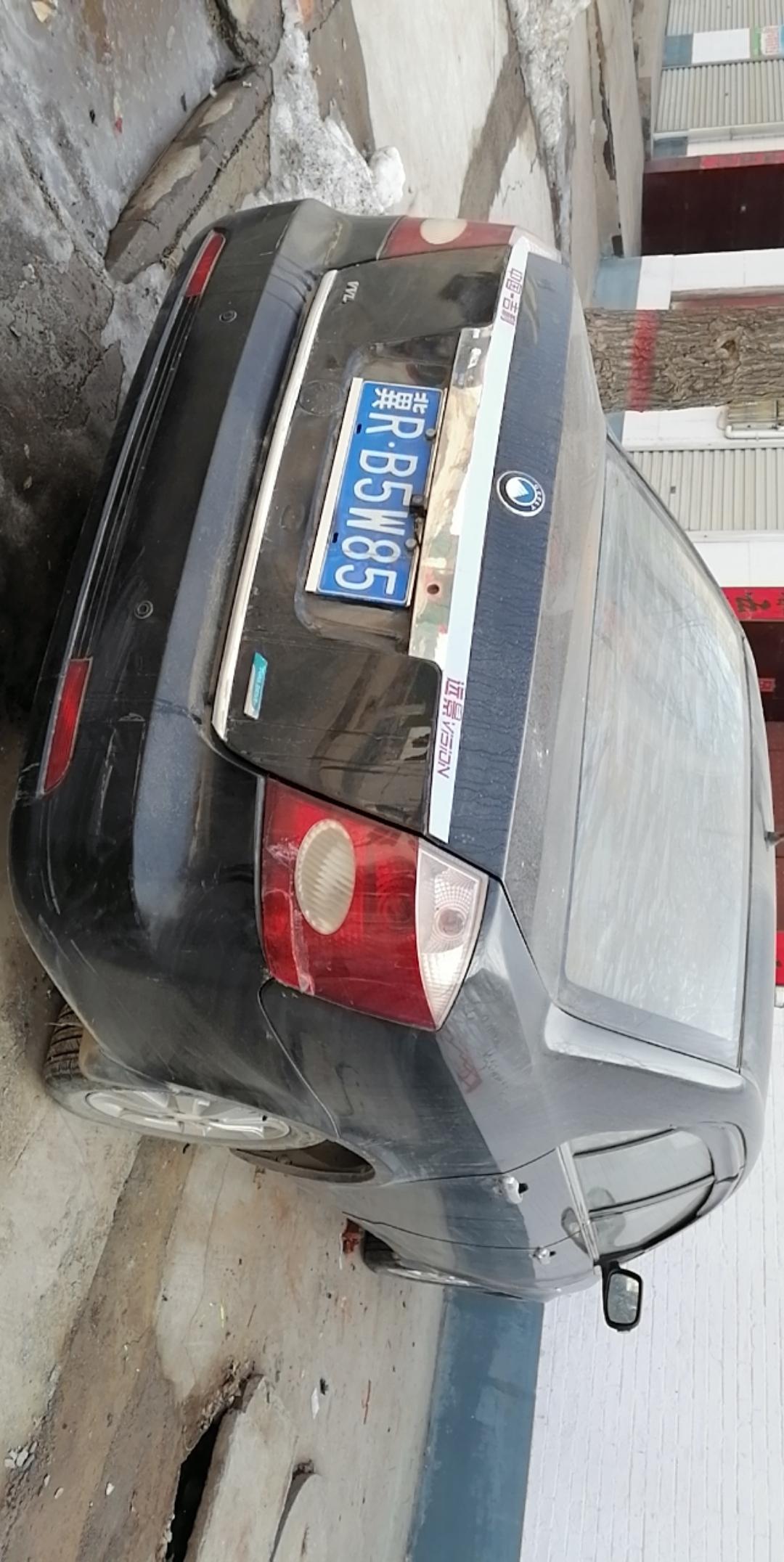 12年一月吉利远景国四排放私家车