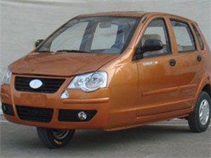 14年福田双缸三轮车