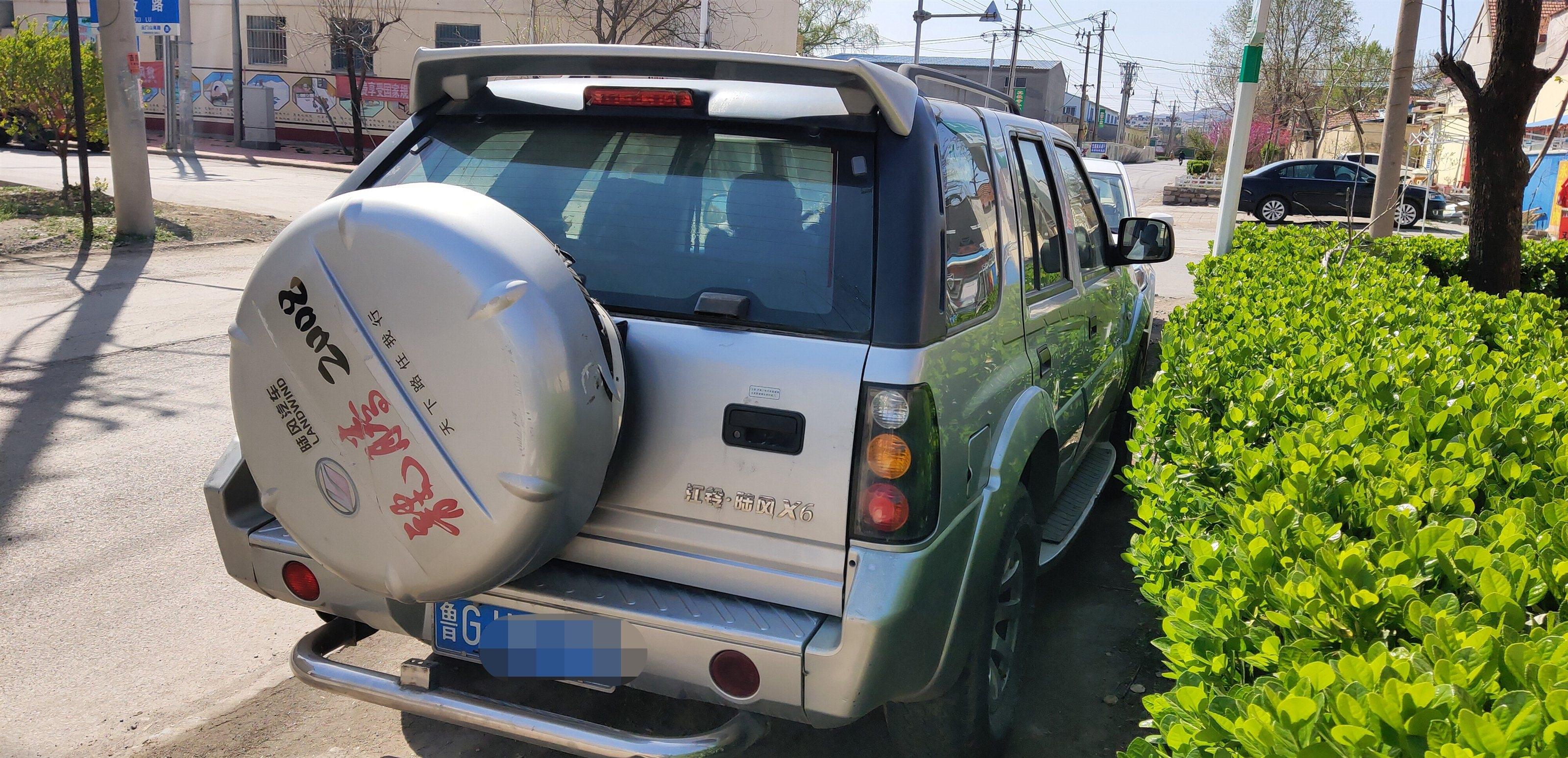 个人一手陆风X6,2.5L柴油版