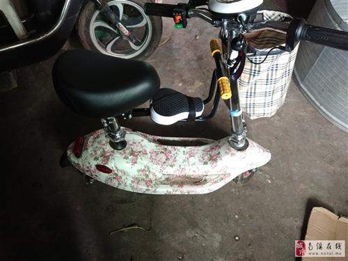 新款小海豚电动车代步车滑板车代驾车成人电动自行车折叠车