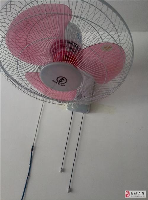 挂壁式电风扇40元,一共4个