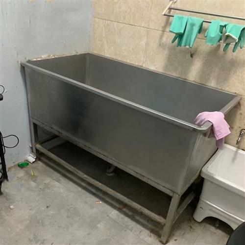 不锈钢盆长1.4米宽0.7米低价处理