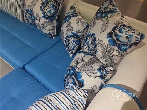 低价出售二手沙发九成新 市内???送到楼下