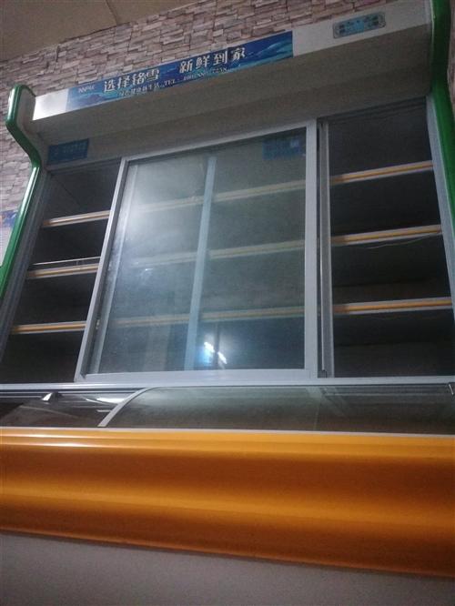冷藏柜,小飯店桌椅,冷屏柜,低價轉讓,有意者聯系