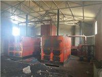 處理工廠用燃煤沼氣兩用鍋爐兩套,一套規格二噸,九成新,可供上千平米釆暖
