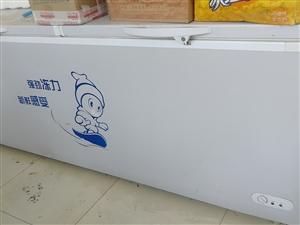 出售大冰柜一�_,八成新