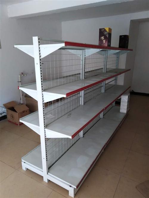 6节超市货架,一个柜台,可以单独购买,价格再商量