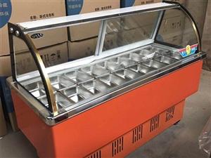 全新冷藏保�r展示柜:因��I失�`,�F�e置在店里,原�r2100元,�F低�r出售1400元,上�T自提。有需要...