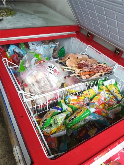 九成新冰柜   三开门