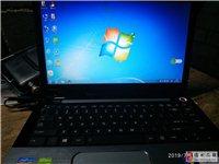 超薄14寸东芝笔记本电脑英特尔I3处理器4G内存120G固态硬盘独立显卡9成新运行速度快,闲置了出给...