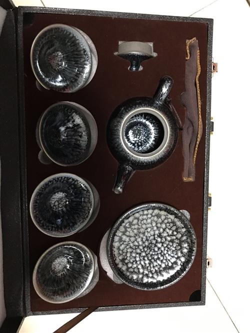 建盏茶具,非物质文化遗产建盏杯,东西都很不错看上的来送货上门