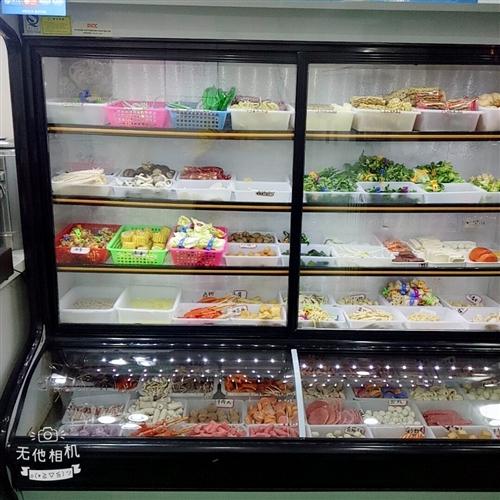 本人因點菜柜小了要換大的所以出售正在用的點菜柜1.8米的