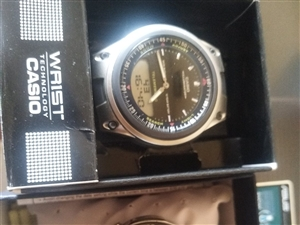 本人有卡西欧手表出售均为九五成新价格面议!联系电话13830796782