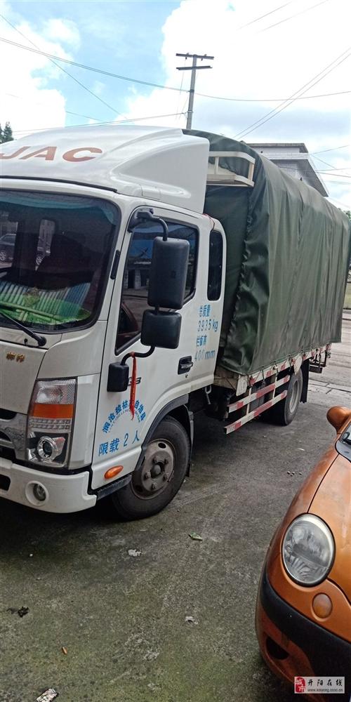 轻卡车转让 由于本人有台6.8米车,这车买来做生意的,现在生意没做了,无法一人开两台车,所以转给有用...