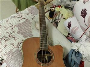 红十军吉他3200入手99新没时间弹