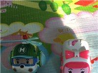 自家孩子的韩国正品玩具!无破损!干净!可送货上门!单个卖30一个!大的绿色直升机玩具40