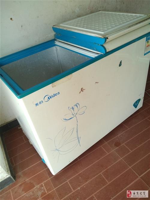 本人有一臺美的,冰柜,八成新