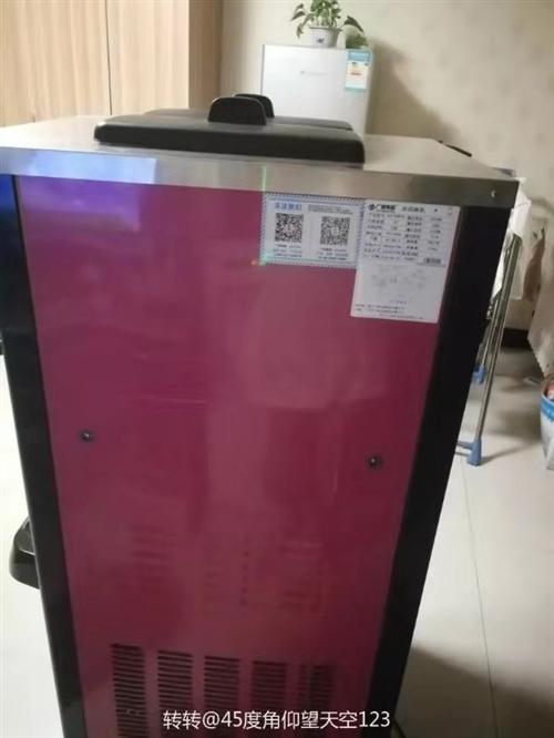 三头冰激凌机,用了不到半年,低价出售!