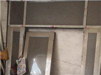 二手不锈钢大屋门,九成新,高3米,宽2.5米,