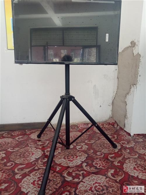 新电视没用过,加下面后配支架500元