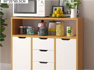 全新餐�柜,茶碗柜,收�{柜,8.2��I的,�Y果家里放不下,原�r288.�F�r188