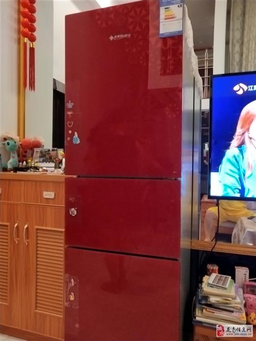 美菱冰箱一級能效,216容量,24小時0.39度電,店面轉讓雨處理,八成新