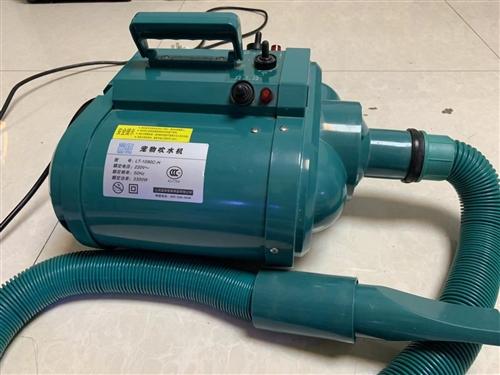 蓝豚吹水机,双马达电加热,高配置9.5成新