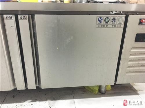 上海银都双制平冷柜,使用八个月,
