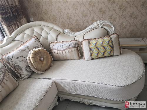 歐式沙發全新。