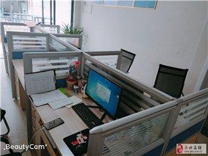 办公桌,六组八成新,