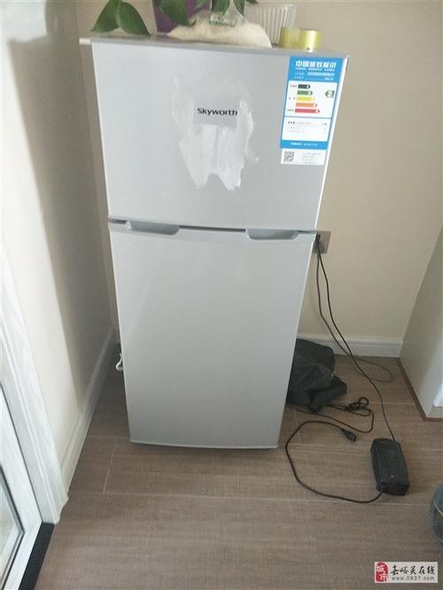 因本人去外地,九成新冰箱出售