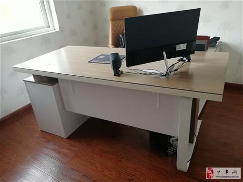 老板桌 老板椅一套,準新品!
